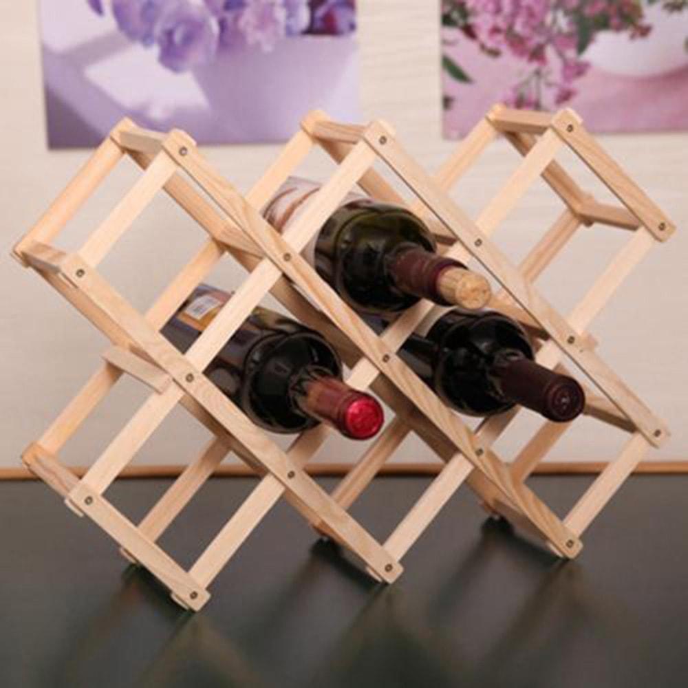 casier en bois pour ranger les bouteilles de vin 3. Black Bedroom Furniture Sets. Home Design Ideas