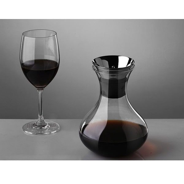 Carafe à décanter le vin pas cher avec bouchon