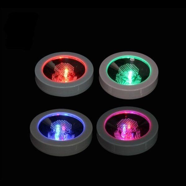 Dessous de verre à led à lumière multicolore