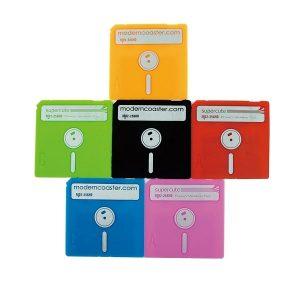 Dessous de verre disquette