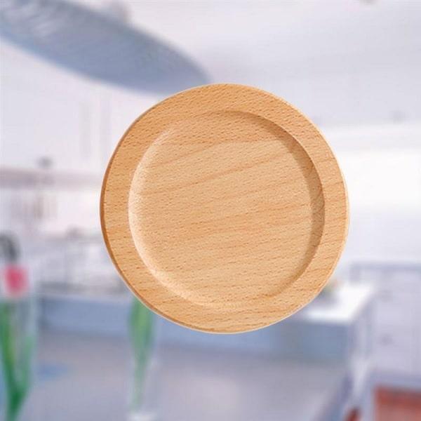 dessous de verre en bois de forme ronde avec ou sans. Black Bedroom Furniture Sets. Home Design Ideas