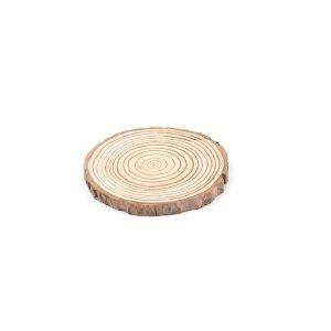 Dessous de verre en rondin de bois 3-5 cm lot de 1