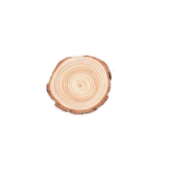 Dessous de verre en rondin de bois 5-7 cm lot de 1