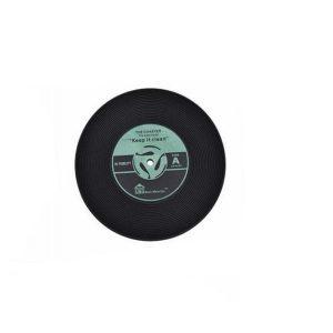 Dessous de verre vinyle (lot de 4) vert