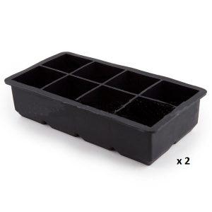 Moule à glaçon gros cube lot de 2
