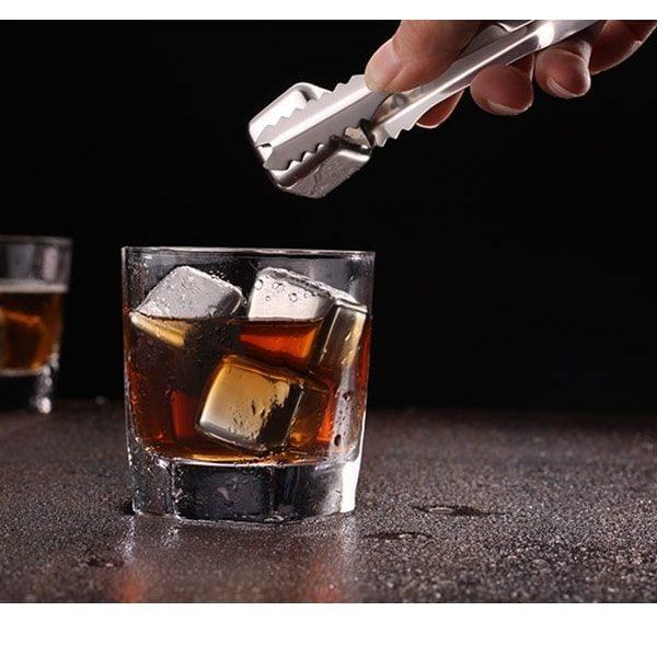 Pierre à whisky en inox en verre