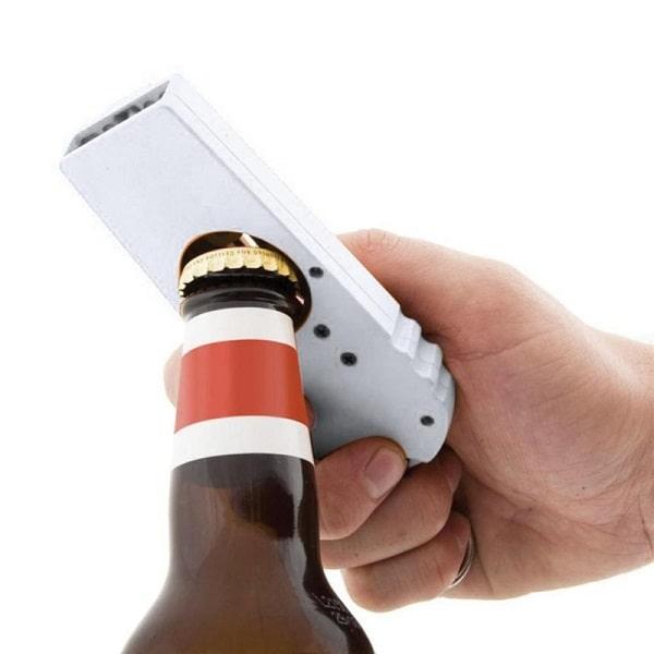 Décapsuleur chope de bière aimanté Ouvre bouteille magnétique magnet pour frigo