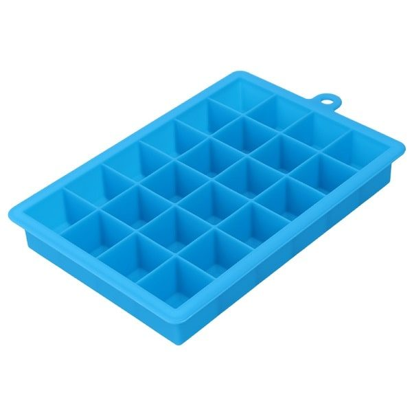 Moule à glaçon en silicone, bleu clair