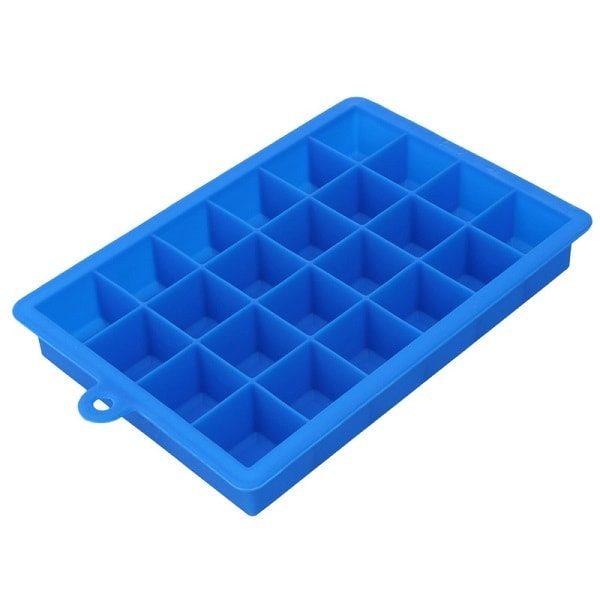 Moule à glaçon en silicone, bleu foncé