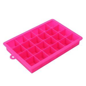 Moule à glaçon en silicone, rose
