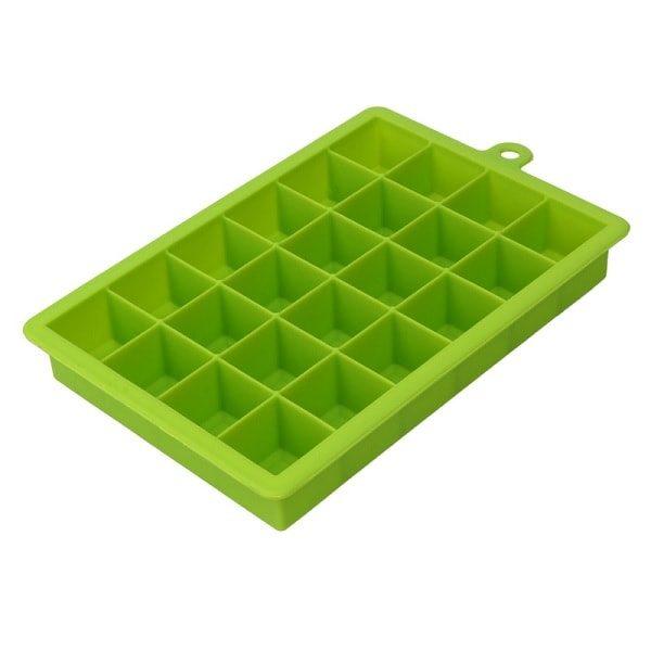 Moule à glaçon en silicone, vert