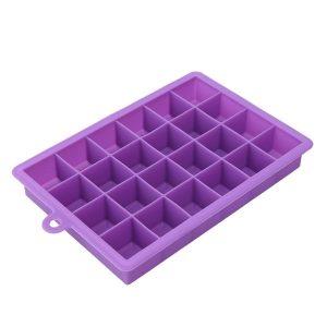 Moule à glaçon en silicone, violet