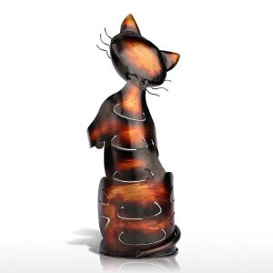 Porte bouteille de vin chat 3