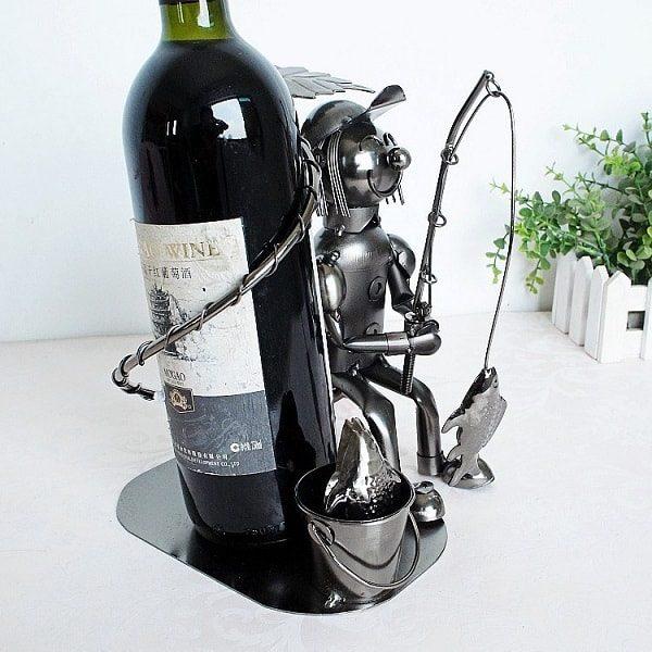 Porte bouteille de vin du pêcheur, 3