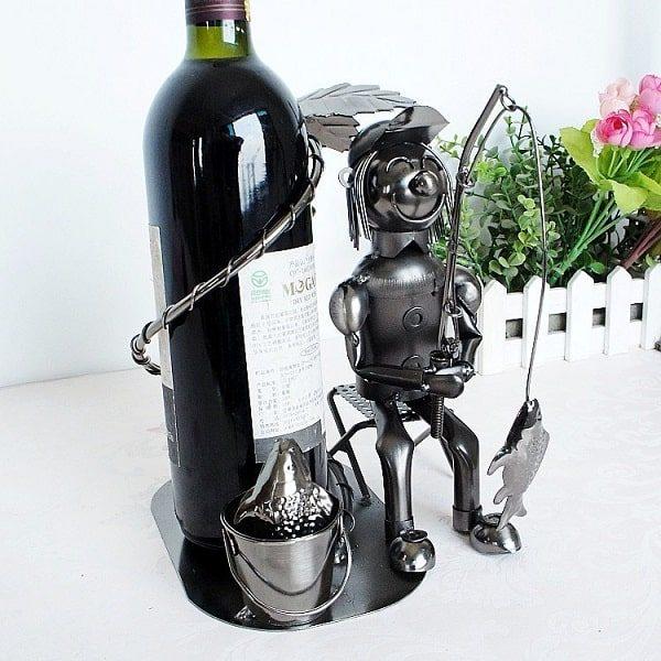 Porte bouteille de vin du pêcheur, 5