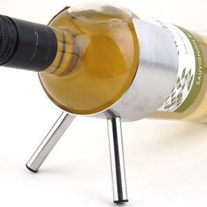 Porte bouteille de vin inox, 1