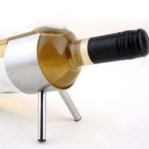 Porte bouteille de vin inox, 2