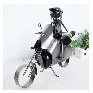 Porte bouteille de vin moto, moto view 2