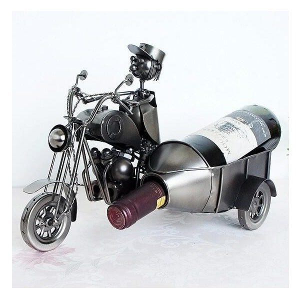 Porte bouteille de vin moto, side car