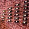 Porte bouteille de vin mural