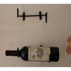 Porte bouteille de vin mural - lot de 3