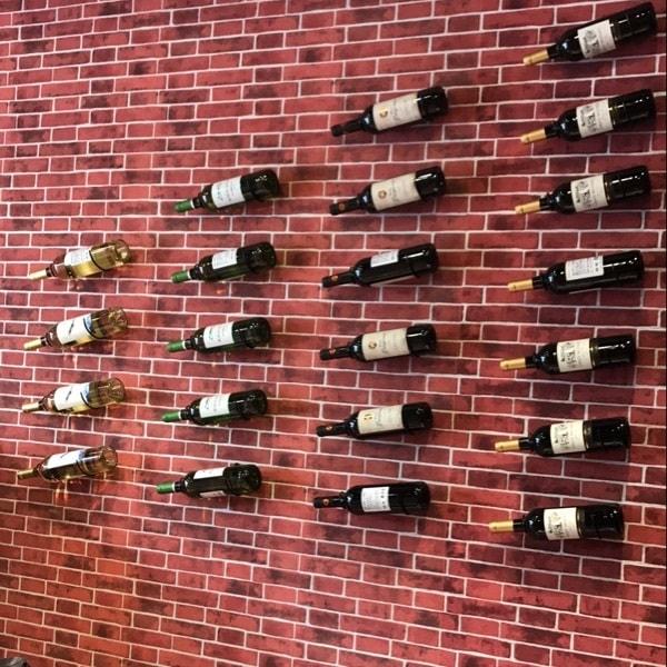 Porte bouteille de vin mural lot de 3 saveur vin - Porte bouteille vin mural ...