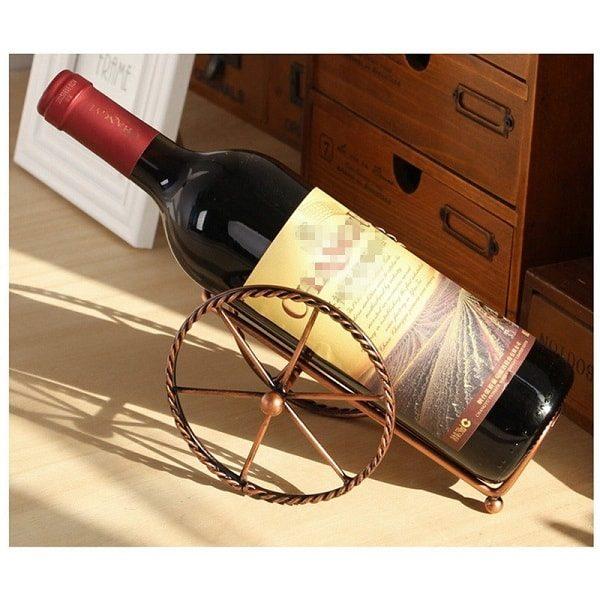 Porte bouteille de vin pour la table 2