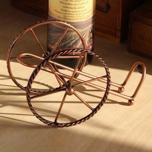 Porte bouteille de vin pour la table 3