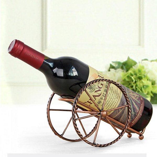 Porte bouteille de vin pour la table