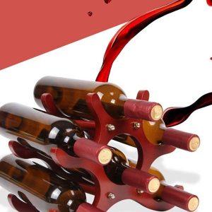 Porte bouteille en bois 4