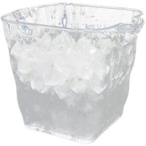 Seau à champagne en plastique transparent, 1