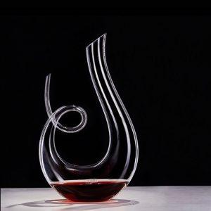 Carafe à vin en cristal