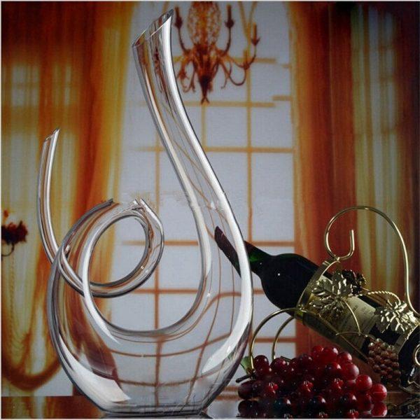 Carafe à vin en cristal pur