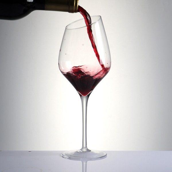 Verre à vin design sans plomb