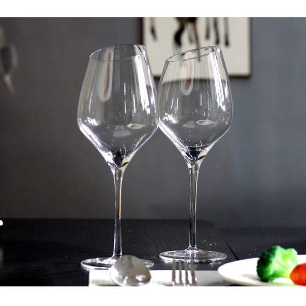 Verre à vin design (x2)