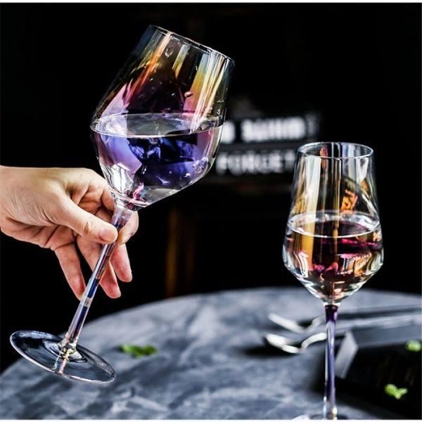 Verre vin dégustation