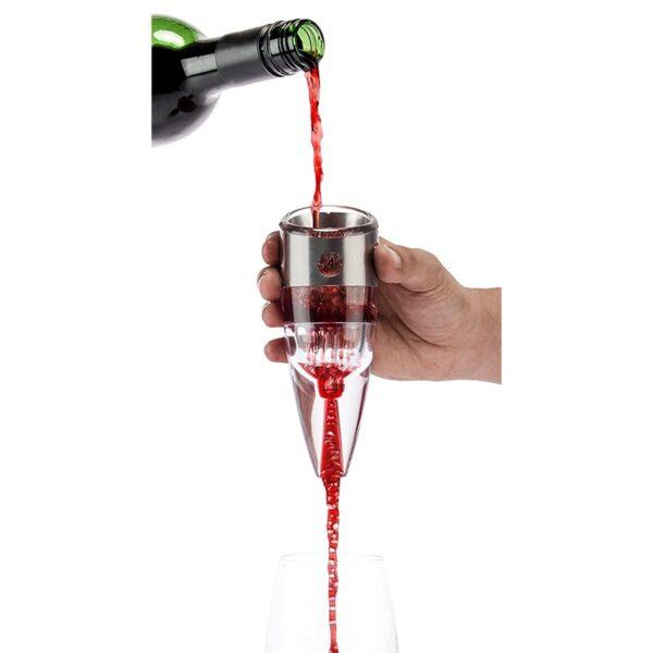 Aerateur de vin de type reglable