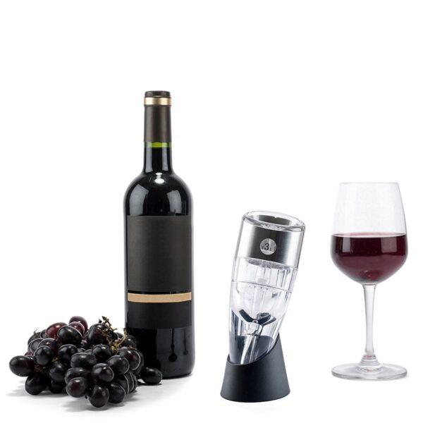 Aerateur de vin reglable et éfficace