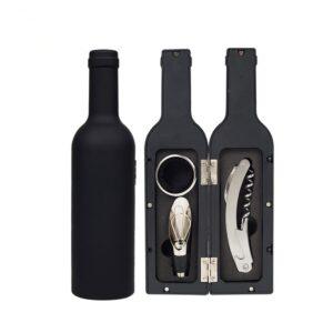 Coffret ouvre bouteille vin noir