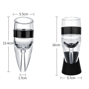 Decanteur aerateur vin transportable