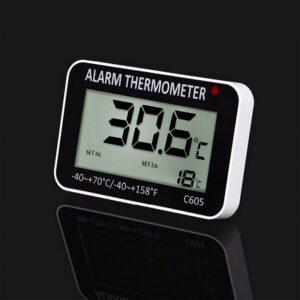 Thermometre cave vin avec alarme