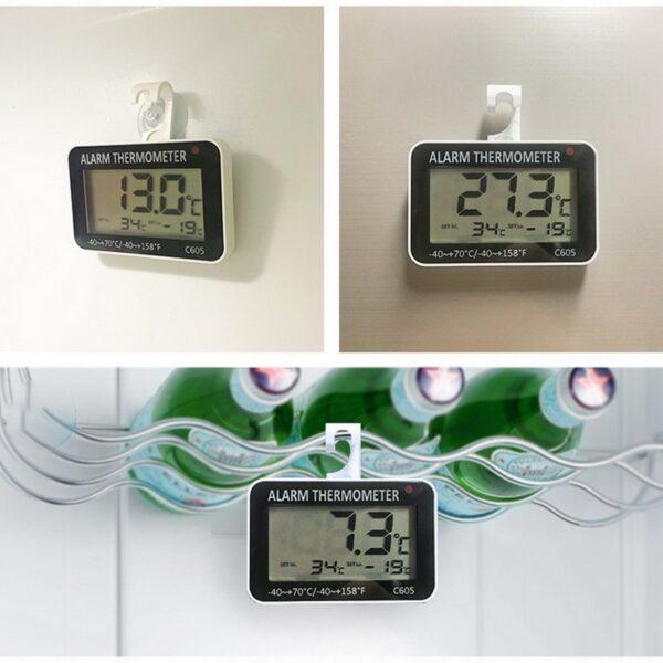 Thermometre de cave vin avec alarme