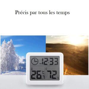 Thermomètre et hygromètre cave à vin