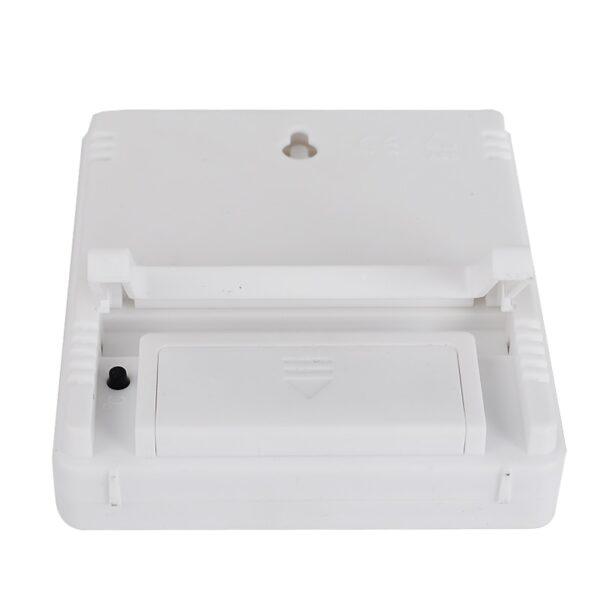 Thermometre hygrometre cave blanc