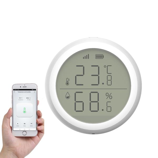 Thermometre hygrometre connecté wifi