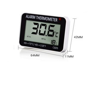 Thermometre pour cave vin alarme