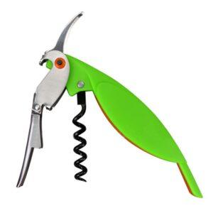 Tire bouchon perroquet vert