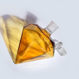 Belle carafe whisky diamant