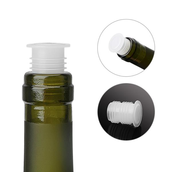 Bouchon bouteille vin plastique