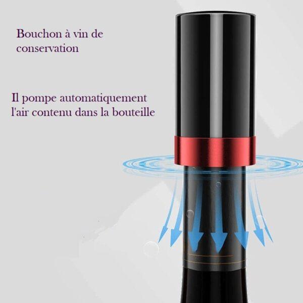 Bouchon de vin conservation